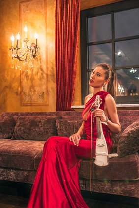 Скрипачка Стефания