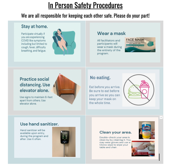 Updated 6_1 In person safety procedures