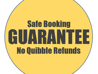 Safe Booking Guarantee:  Book your 2021 rally with confidence
