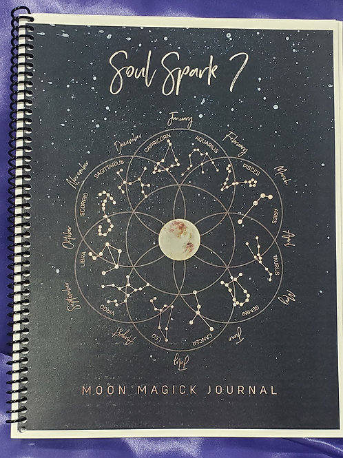 Moon Magick- Journal (shipping will be delayed a few days)