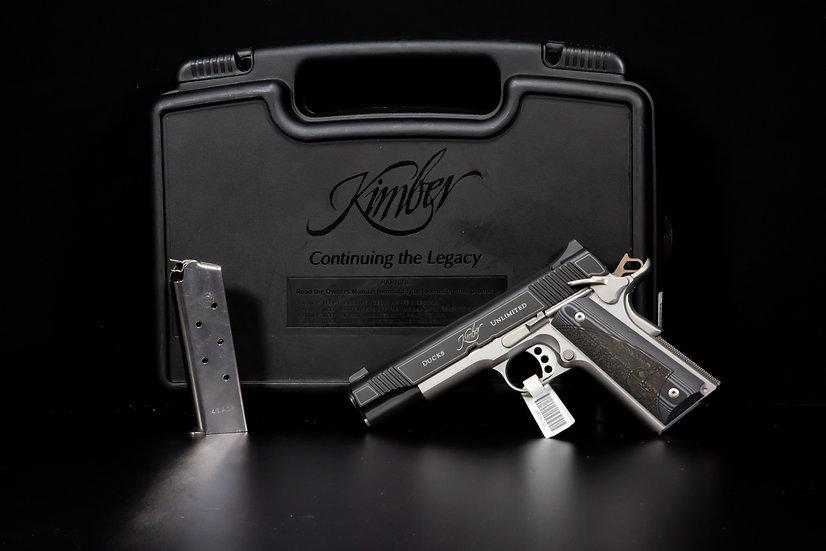 USED  Kimber Custom II 45ACP Ducks Unlimited