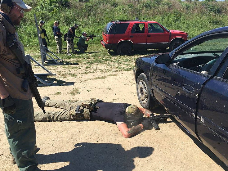 Civilian Vehicle Combative Course