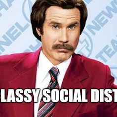 Stay Classy Social Distancers