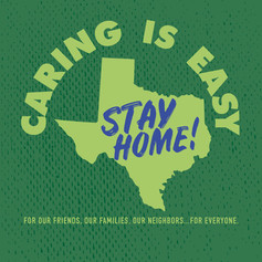 Caring is Easy TX Green