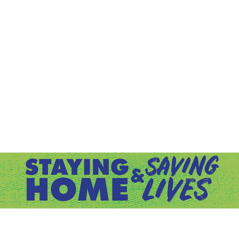 Stay Home Profile Image – Green