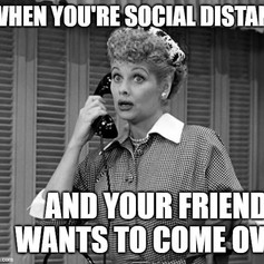 I Love Lucy Social Distancing