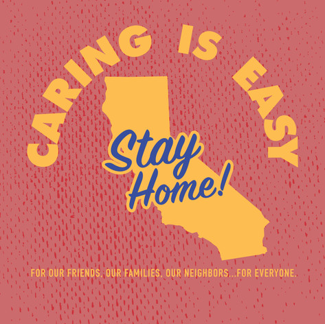 Caring is Easy CA Red