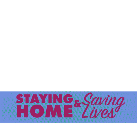 Stay Home Profile Image – Lavender
