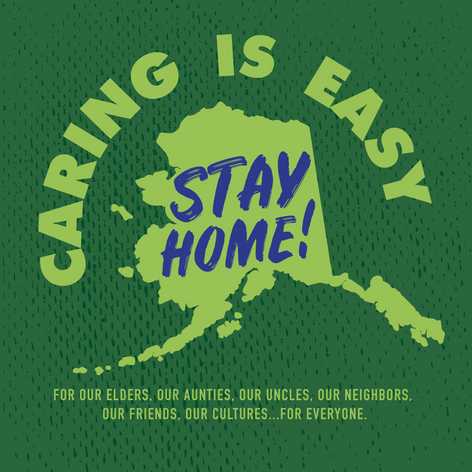 Caring is Easy AK Green
