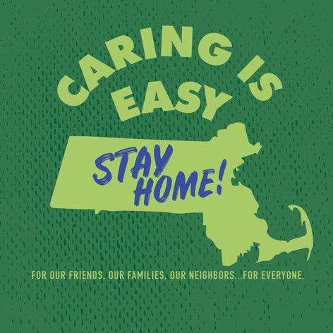 Caring is Easy MA Green