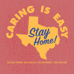Caring is Easy TX Red