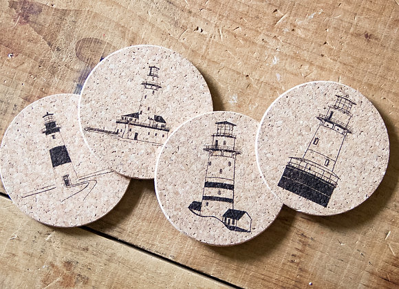 LIGHTHOUSES COASTERS