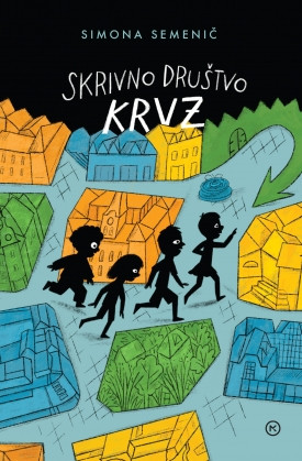 Simona Semenčič - Skrivno društvo KRVZ