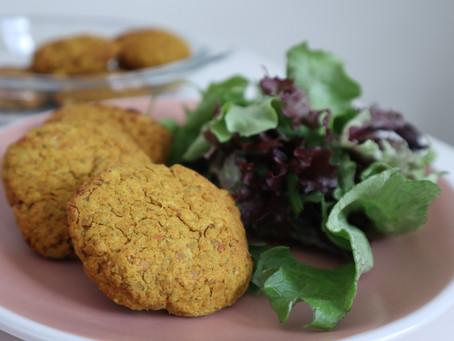 Falafel (ή ρεβυθοκεφτέδες) στο φούρνο