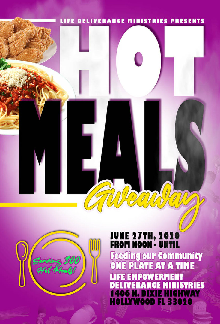 Hot Meals Giveaway