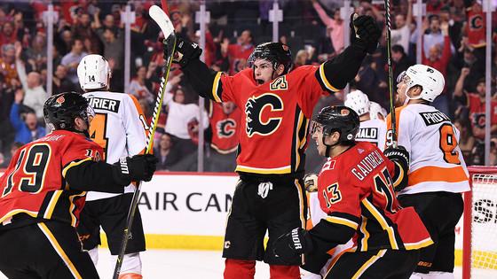 Flyers Fan Reaction (FFR1) Gm 29: PHI 5, CGY 6 (OT) - Up in Flames