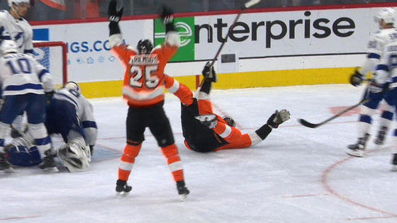 Flyers Fan Reaction (FFR1) Gm 20: TB 6, PHI 5 (OT) - The Lits and the Lit Nots