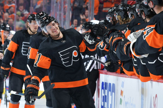 Flyers Fan Reaction (FFR1) Gm 22: NYR 0, PHI 4 - You Grit What You Get