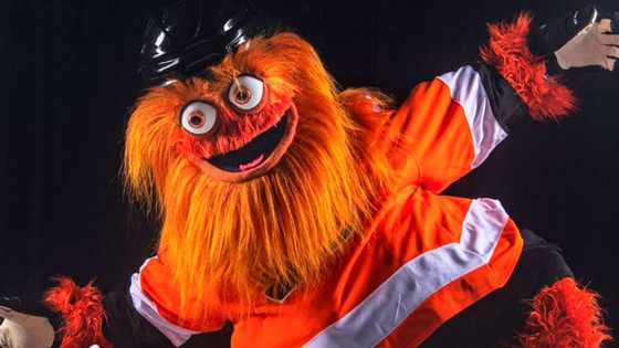 Flyers Unveil New Mascot - Gritty