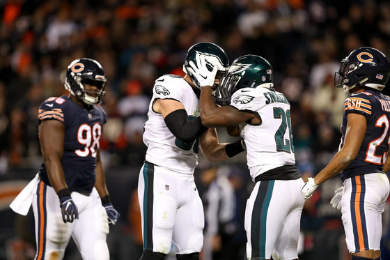 Eagles Fan Reaction (EFR) WC Round: PHI 16, CHI 15 - Walk in the Parkey