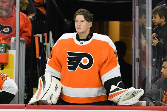 Flyers Call Up Carter Hart