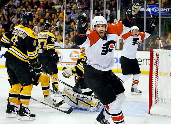 The Philadelphia Flyers Best Moments of the Decade: #5-1