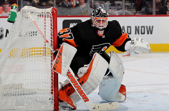 Flyers Resign Brian Elliott to 1-Year, $2 Million Deal