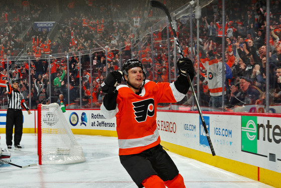 Flyers Sign RFA Scott Laughton to 2-Year Contract