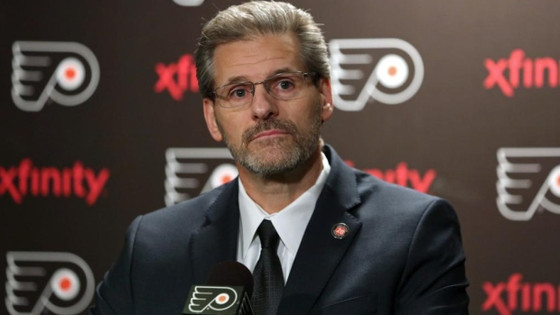 Flyers GM Ron Hextall Fired