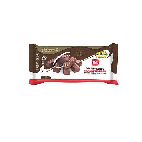 OBLEAS BANADAS CON CHOCOLATE MAN