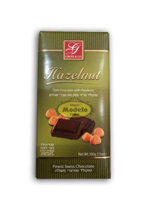 CHOCOLATE DELUXE CON  AVELLANAS PARVE