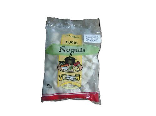 Ñoquis Lucio x 500 gr