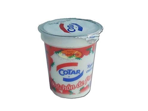 Yogurt Entero Con Colchon De Frutilla