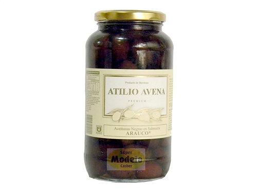 ACEITUNAS NEGRAS ATILIO AVENA X 800 GR