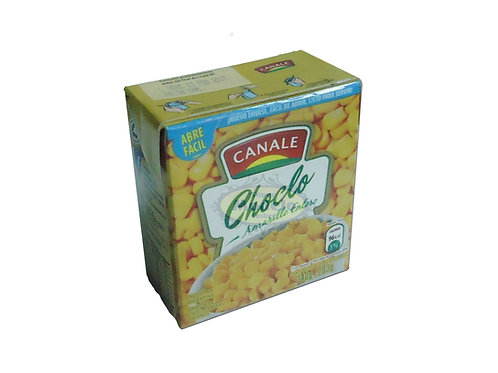 Choclo Amarillo Entero Canale X 320 gr