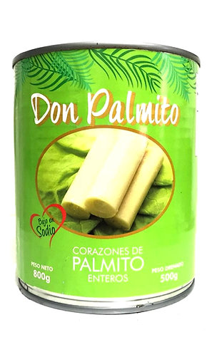 DON PALMITO ENTERO X 800 GR