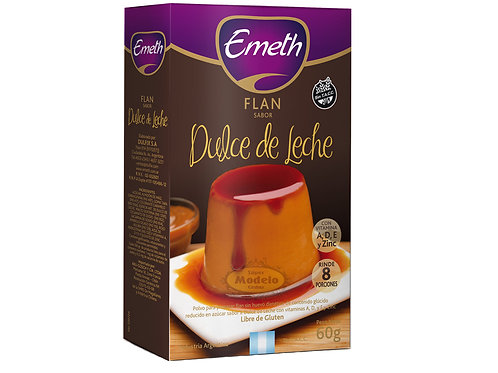 Flan Dulce De Leche Emeth
