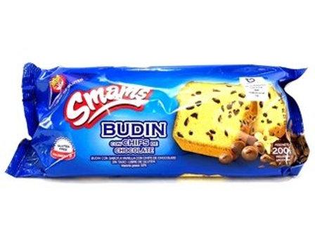 BUDIN CON CHIPS DE CHOCOLATE SMAMS