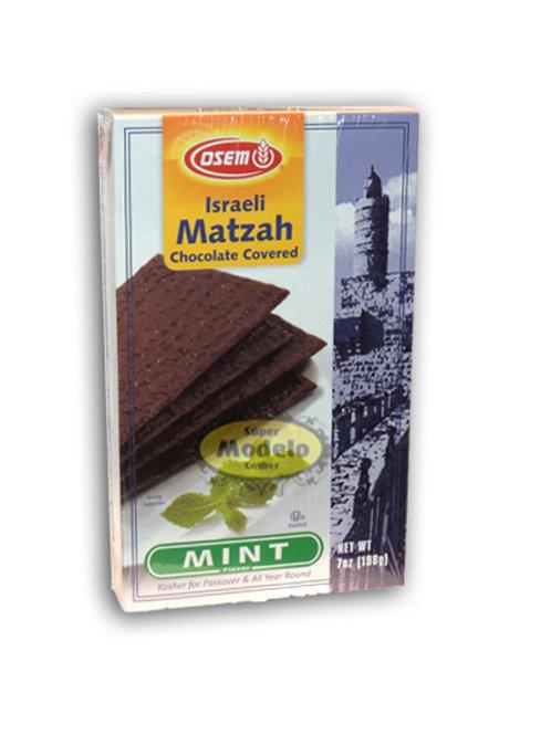 MATZAH CON CHOCOLATE Y MENTA