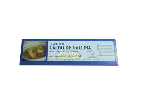Qubitos de Sopa Sabor Gallina