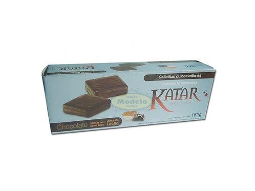 Galletitas Katar Bañadas De Chocolate