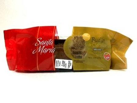 BUDIN DE CHOCOLATE SANTA MARIA
