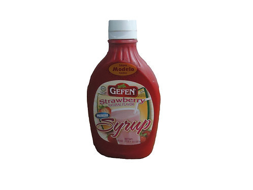 Sirup Gefen De Frutilla x 600 gr