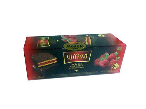 Galletitas Frambuesa Bañada Con Chocolate
