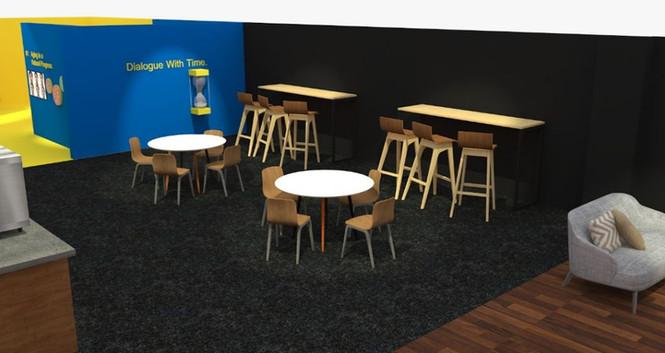 Cafe Seating at Main Lobby