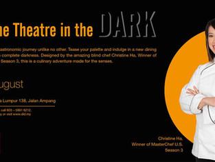 Cuisine Theatre in the Dark (with Masterchef Christine Ha)