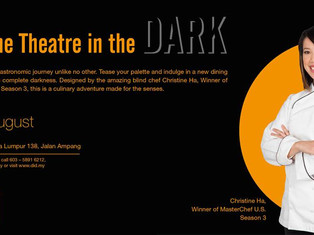 Dinner and Dialogue in the Dark by Datuk Ahmad Talib