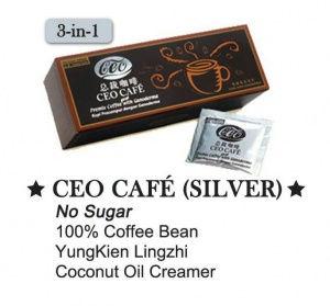 CEO Coffee Silver with No Sugar