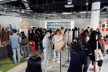 Snapshot of the 2019 arts festival packed with visitors