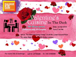 Valentine's Cuisine in The Dark (14 Feb 2019)